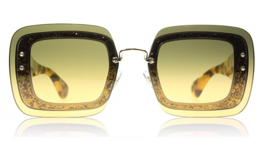 Miu Miu 01RS Transparent Tortoise Glitter PC80A3