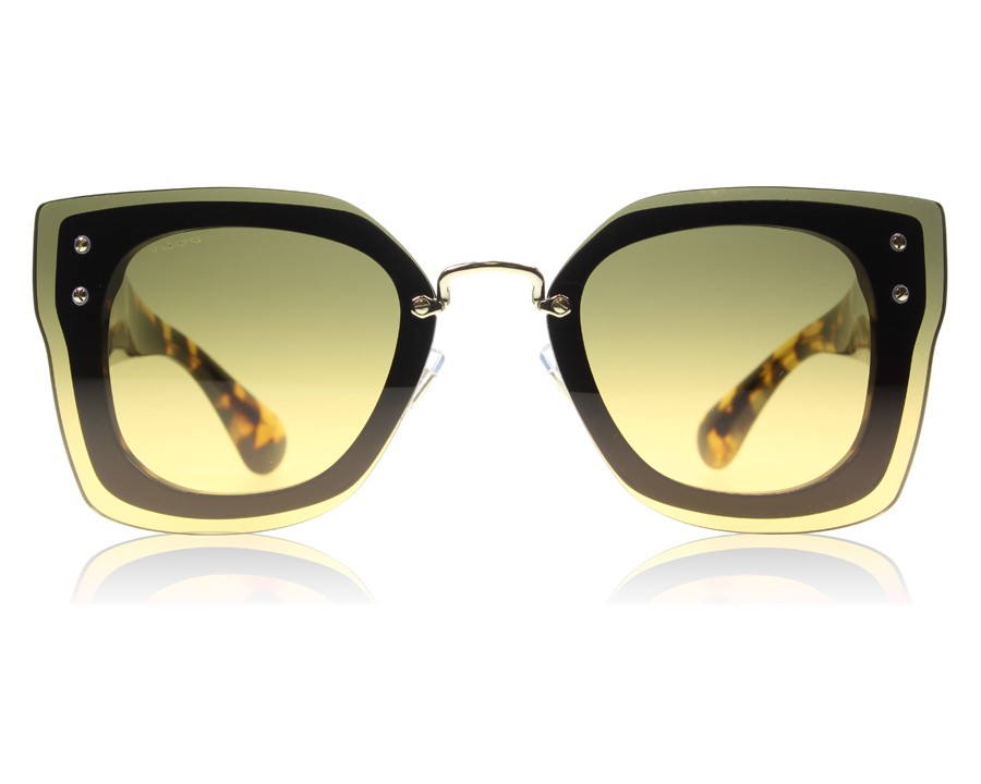 Miu Miu 04RS Top Black Light Havana NAI0A3