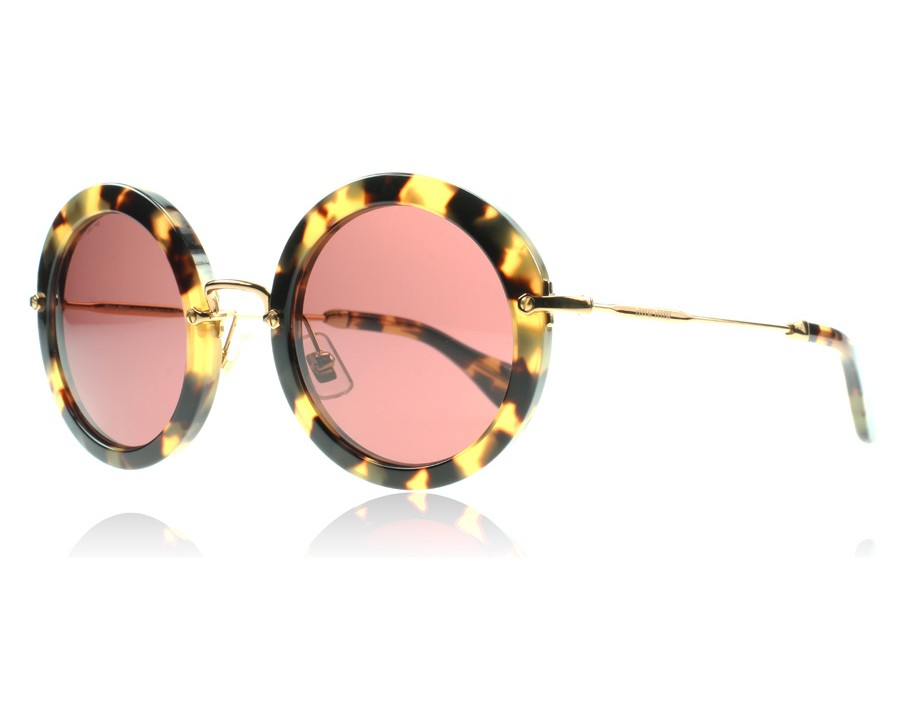 a5dd0728a5c Miu Miu 13NS Noir Yellow Havana 7S00A0 49mm at lux-store.com US ...