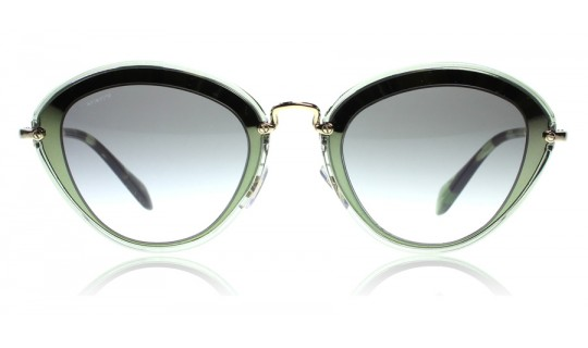 Miu Miu 51Rs Green UFC1E0 52mm