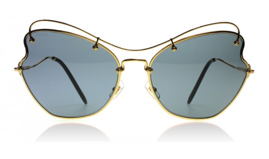 Miu Miu 56R Gold 56R 65mm