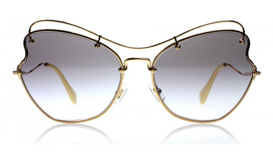 Miu Miu 56Rs Gold / Yellow 7OE3E2