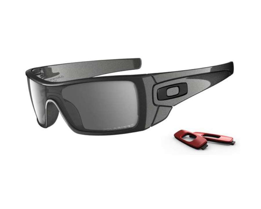 152584d0eb598 Oakley Batwolf Granite OO9101-05 Polarised at lux-store.com US - Free  Shipping   Returns on .