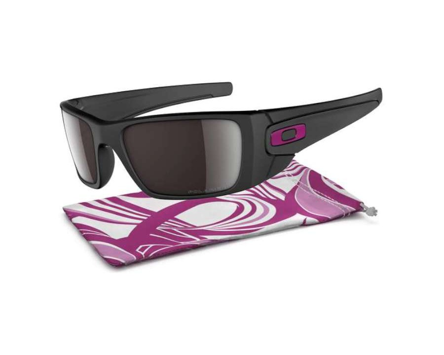 10d897163a1 Oakley Fuel Cell Breast Cancer Awareness Edition Matte Black OO9096-80  Polarised at lux-store.com US - Free Shipping   Returns on .