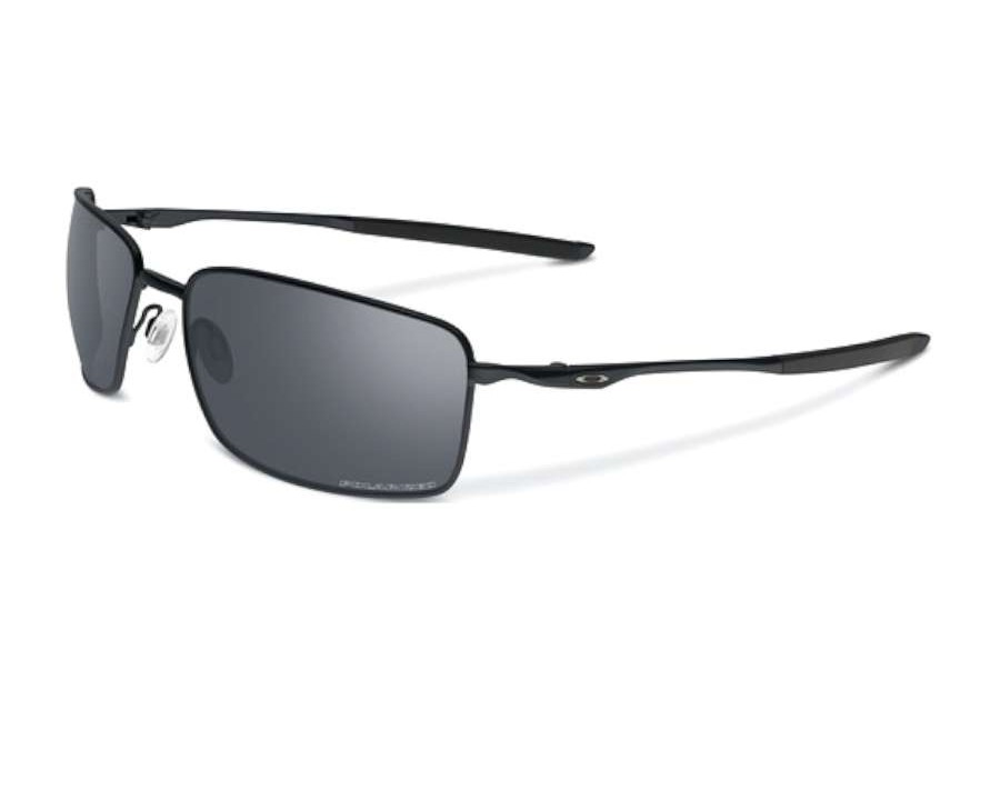 5be890a354 Oakley Square Wire Matte Black OO4075-05 Polarised at lux-store.com ...