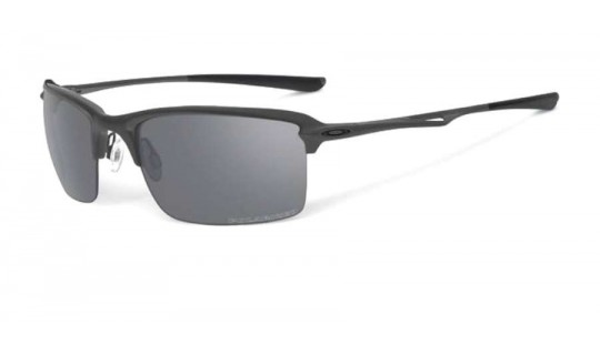 Oakley Wiretap Matte Black OO4071-05 Polarised