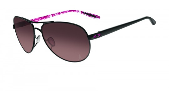 Oakley Women Feedback Breast Cancer Awareness Edition Polished Black OO4079-13--Lux Store-us