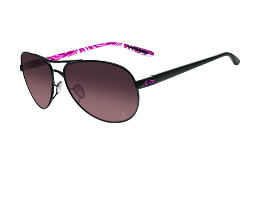 67ba186057 Oakley Women Feedback Breast Cancer Awareness Edition Polished Black OO4079-13  at lux-store.com US - Free Shipping   Returns on .