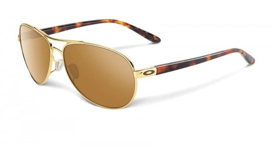 Oakley Women Feedback Polished Gold oo4079-04--Lux Store-us