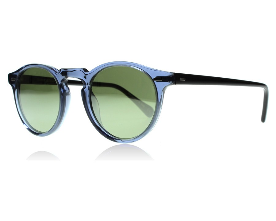 01b564403d1 ... Oliver Peoples Gregory Peck Sun 5217S Blue Denim   Black 15635C ...