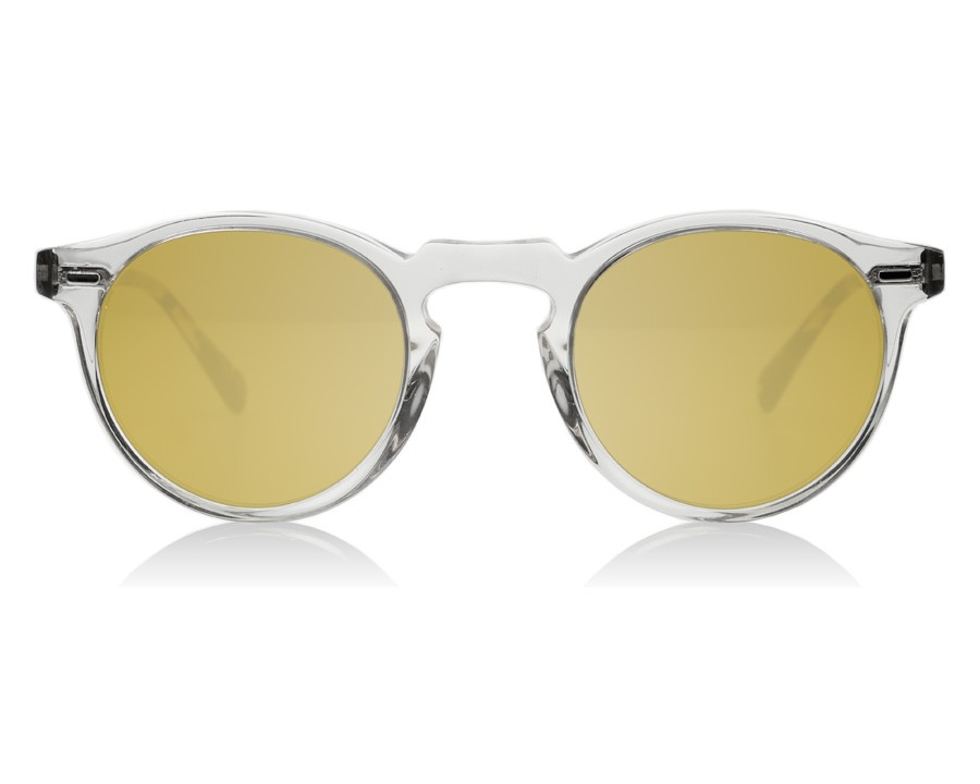 c06a971556 Oliver Peoples Gregory Peck Sun Buff Dark Brown Tortoise 1485W4 at ...