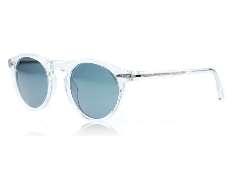 a455cd7b22 Oliver Peoples Gregory Peck Sun Crystal 1101R8 at lux-store.com US ...