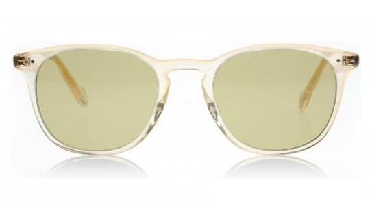Oliver Peoples Sir Finley Sun Buff with Green Glass 10944C--Lux Store-us