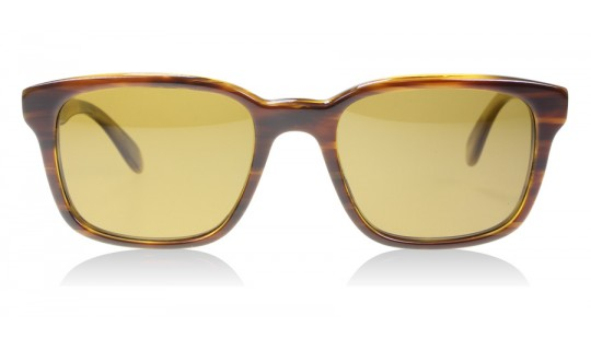 Oliver Peoples Wyler Sun Wiler Sun Brown Striped Honey 131083 Polarised