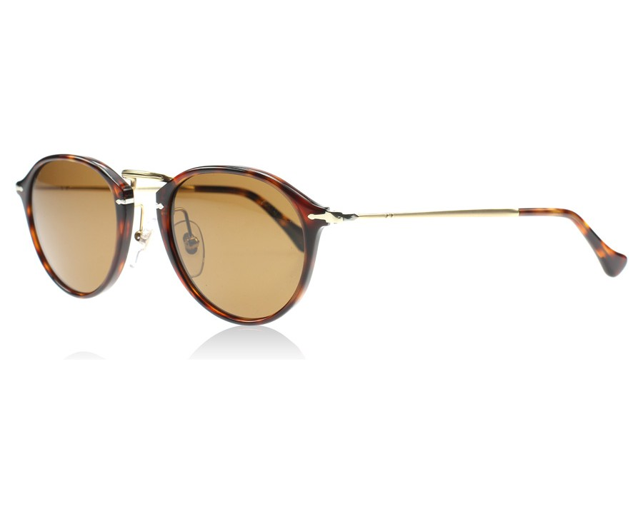 5b14b7dc0cd23 Persol 3046S Tortoise and Gold 24 57 Polarised at lux-store.com US ...