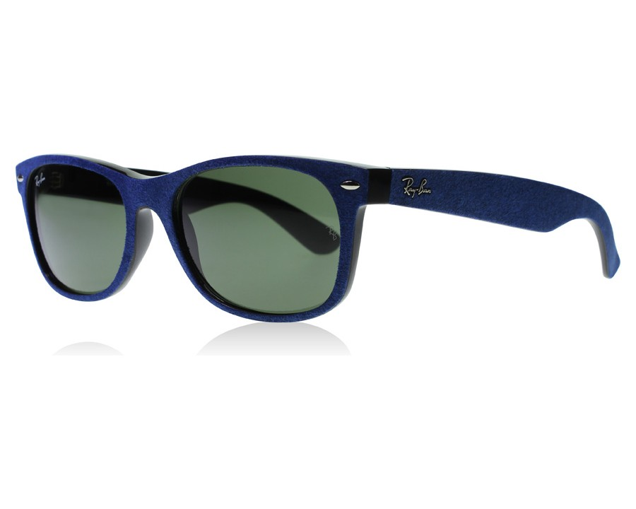 46670650ecb Ray-Ban 2132 Wayfarer 2132 Blue Suede   Black 6239 at lux-store.com ...
