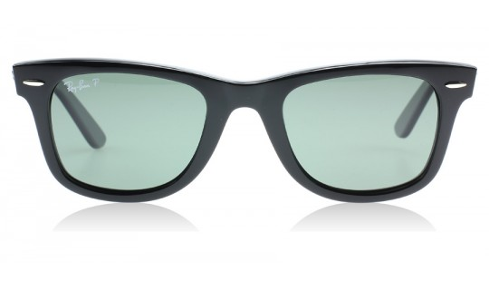 Ray-Ban 2140 Wayfarer Black 901/58 50mm (Medium) Polarised