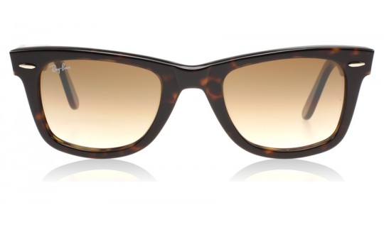 Ray-Ban 2140 Wayfarer Tortoiseshell Gradient Brown 902/51 50 mm (Medium)