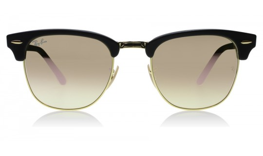 Ray-Ban 2176 Clubmaster Folding 2176 Black / Gold 901S7O