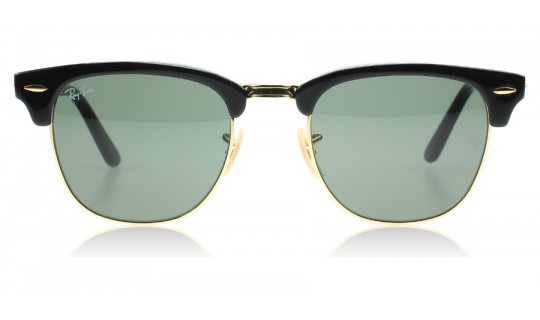 Ray-Ban 2176 Clubmaster Folding Black 901