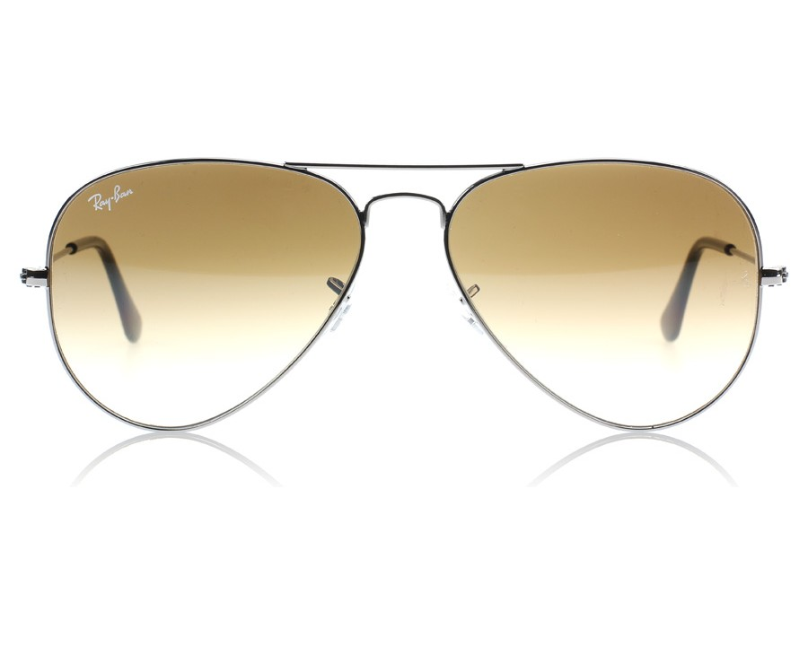 b9b7dbb28b Ray-Ban 3025 Aviator Gunmetal 004 51 Medium 58mm at lux-store.com US - Free  Shipping   Returns on Sunglasses.