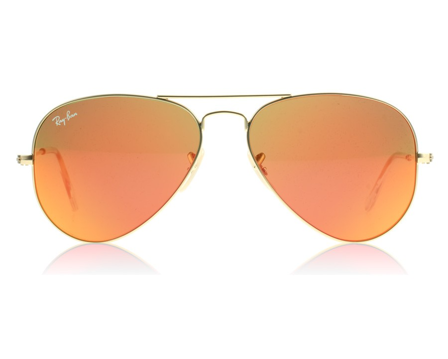 7d33bba9e8 Ray-Ban 3025 Aviator Matte Gold 112 69 58 at lux-store.com US - Free  Shipping   Returns on Sunglasses.