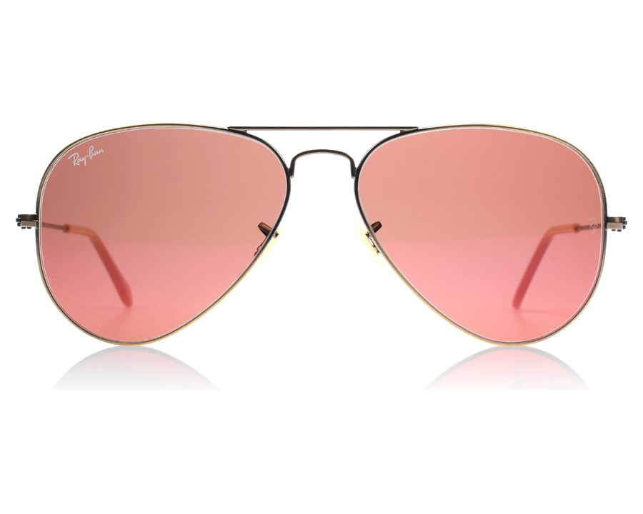 2888e1ca2802 Ray-Ban 3025 Aviator Rb 3025 - Brown Demiglos Brushed Bronze 167 2K at  lux-store.com US - Free Shipping   Returns on Sunglasses.