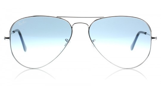 Ray-Ban 3025 Aviator Silver 003/3F Medium 58mm