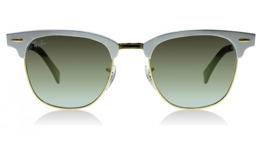 Ray-Ban 3507 Clubmaster Aluminum 3507 Matte / Silver 137-9J
