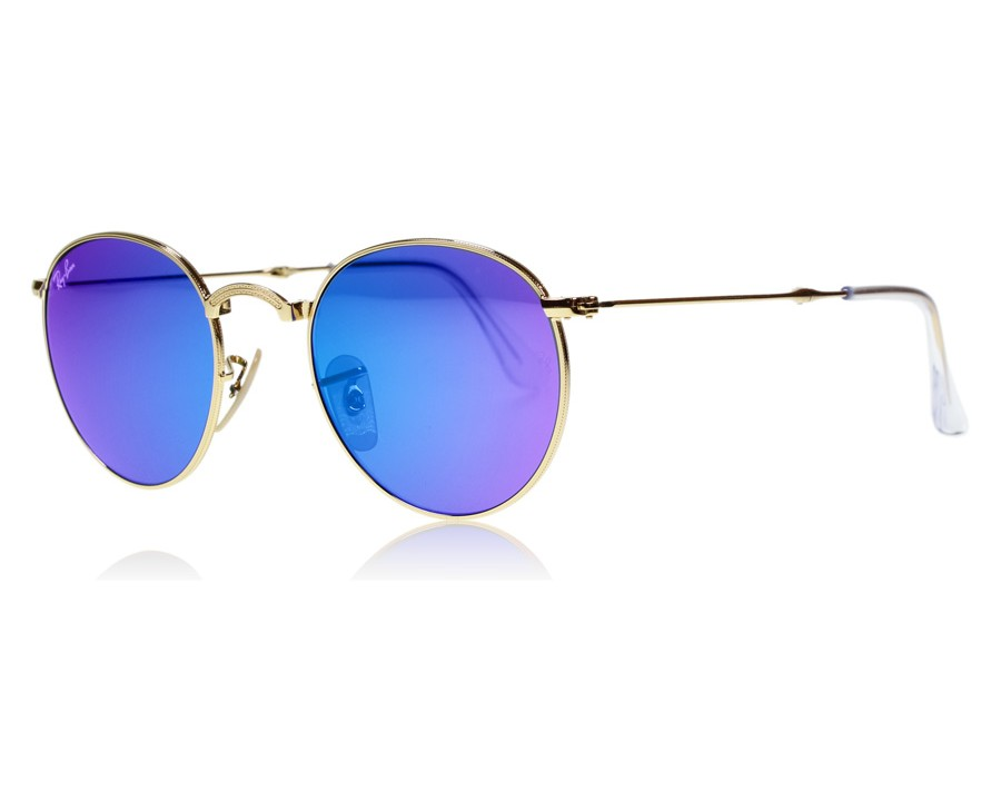 1f78d60e16 Ray-Ban 3532 Round Folding 3532 Gold 001 68 at lux-store.com US ...