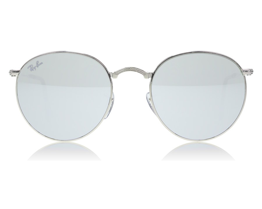 91b4fe35c2 Ray-Ban 3532 Round Folding 3532 Silver 003 30 at lux-store.com US ...