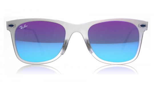 Ray-Ban 4210 Light Ray Matte Transparent 646/55