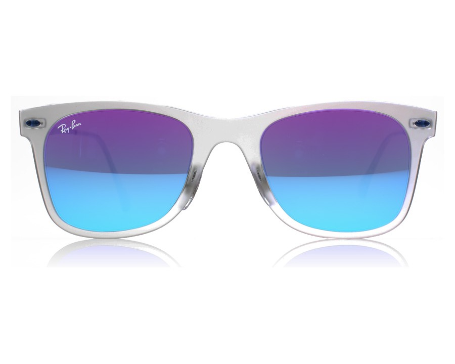 d383de7b8f Ray-Ban 4210 Light Ray Matte Transparent 646 55 at lux-store.com US - Free  Shipping   Returns on Sunglasses.