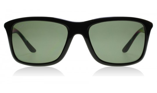 Ray-Ban 8352 Black / Grey 62199A Polarised