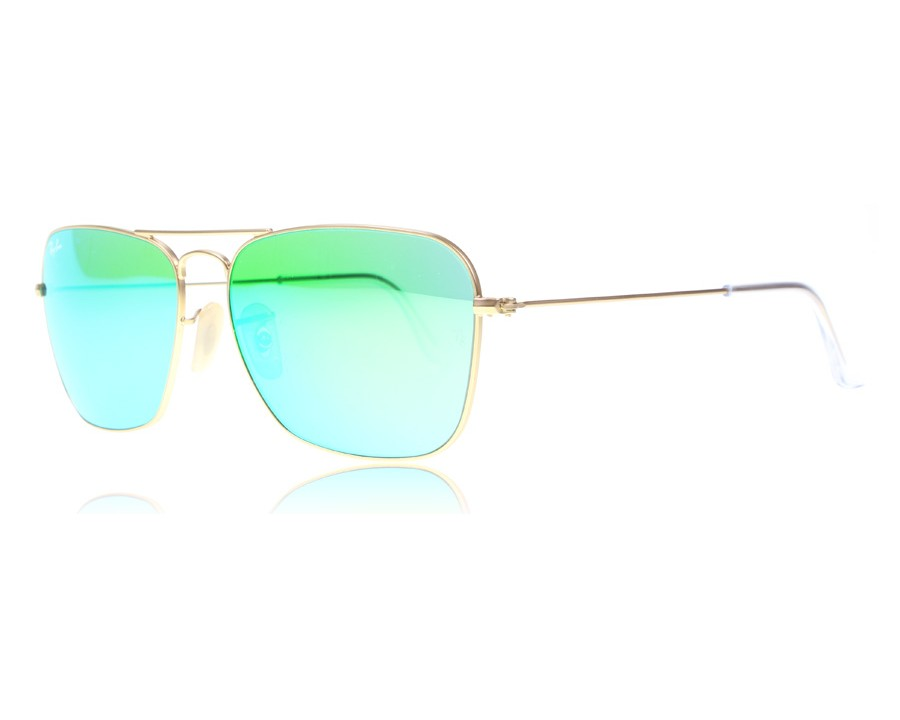 fc23eceb3286a Ray-Ban Caravan 3136 Matte Gold 11219 at lux-store.com US - Free Shipping    Returns on Sunglasses.