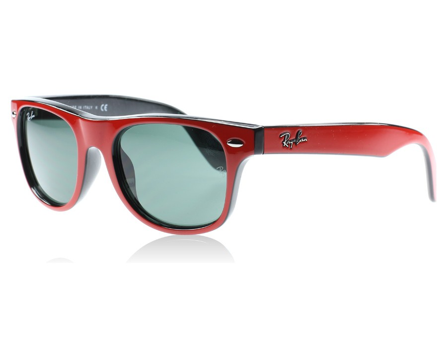 1c0b3c643d Ray-Ban Junior 9035 Top Red on Black 162 71 Youth at lux-store.com ...