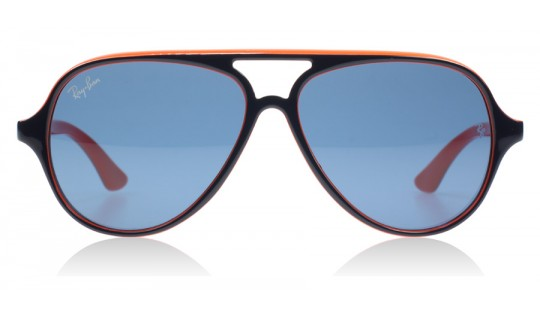 Ray-Ban Junior 9049 Top Blue on Orange 178/7B Youth--Lux Store-us