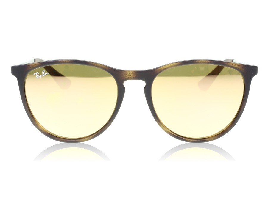 a81ea52b8e Ray-Ban Junior 9060S Havana Rubber 70062Y at lux-store.com US - Free  Shipping   Returns on Sunglasses.