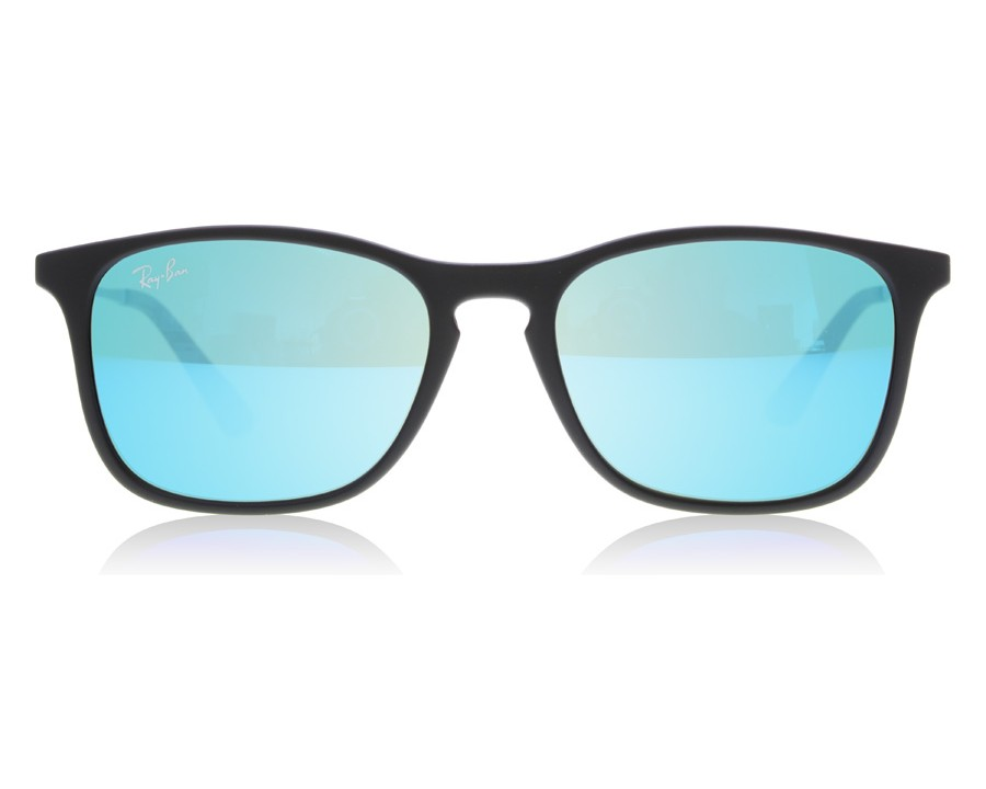 2a8b8c22ae8a0 Ray-Ban Junior 9061S Chris 9061S Black 700555 at lux-store.com US - Free  Shipping   Returns on Sunglasses.