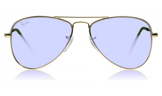 Ray-Ban Junior 9506s 9506S Matte Gold 249-4V--Lux Store-us
