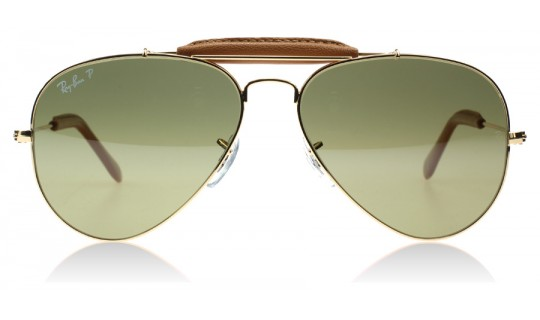 Ray-Ban Outdoorsman Craft Collection Shiny Gold 001/M9 58mm Polarised-805289368977-Lux Store-us