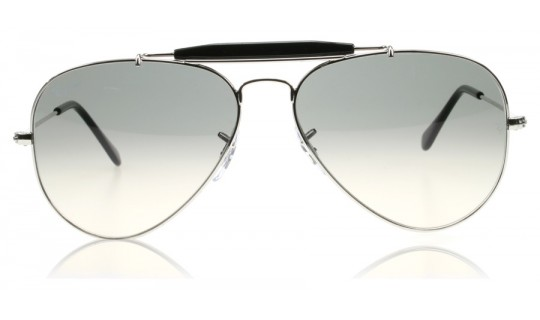 Ray-Ban Outdoorsman II 3407 Silver Crystal 003/32 Large 58mm