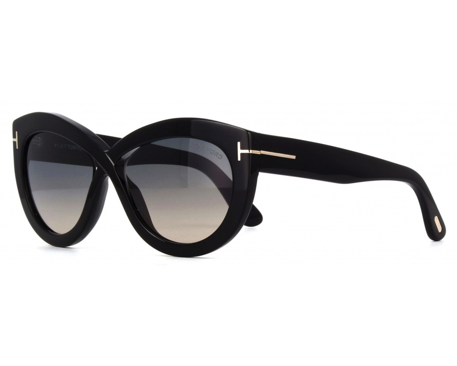 b8a89f0e3cb5d Tom Ford Diane-02 TF577 01B at lux-store.com US - Free Shipping   Returns  on .