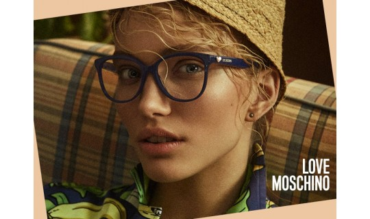 Moschino Love Glasses