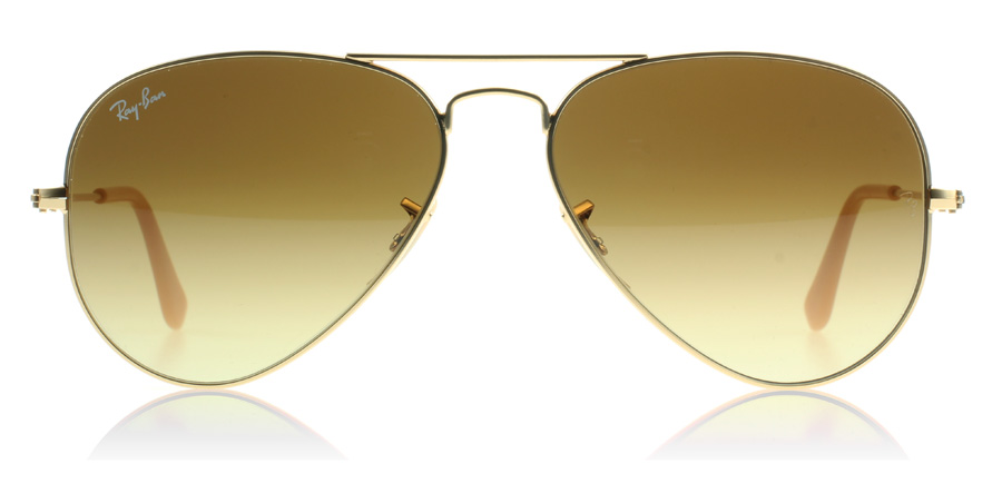 64ed3301f15b Ray-Ban 3025 Aviator Matte Gold 112/85 62