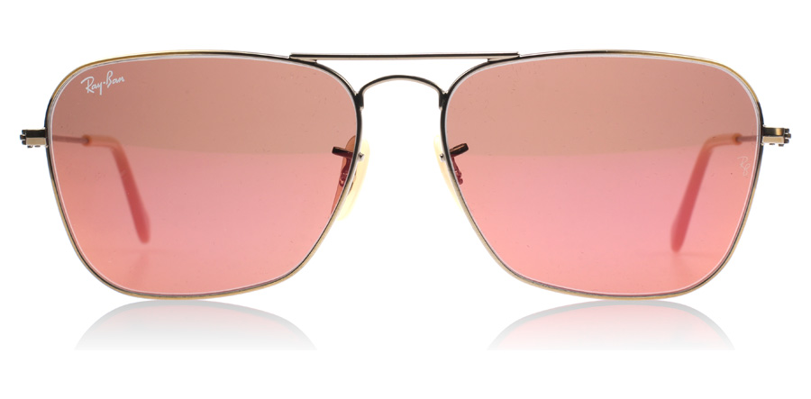 87c8bfb5ff0260 Ray-Ban Caravan Demiglos Brushed Bronze 167 2K at lux-store.com US - Free  Shipping   Returns on Sunglasses.